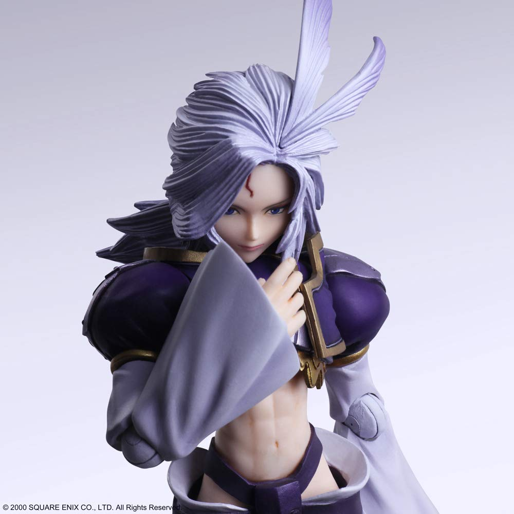 Bring Arts Series Kuja & Amarant Coral [Final Fantasy IX]
