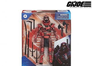 G.I. Joe Classified Series Red Ninja