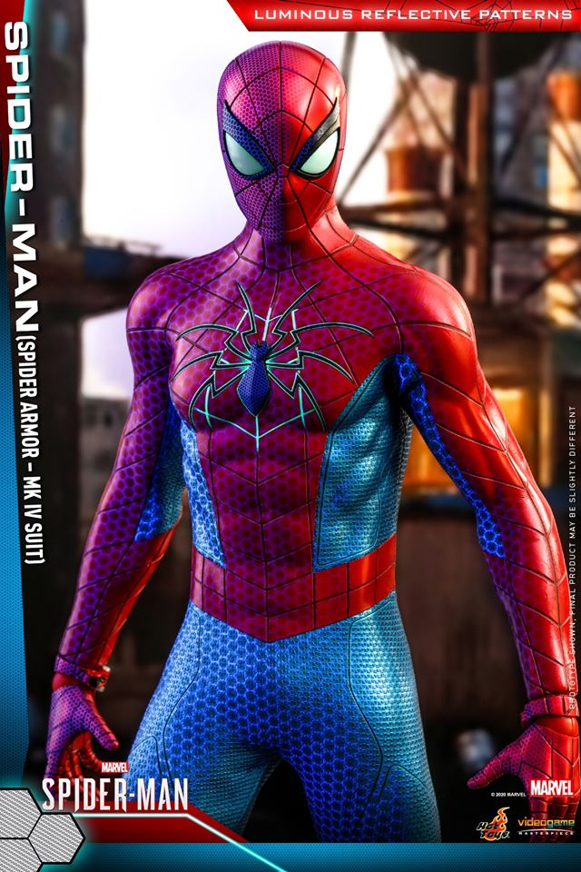 Hot Toys 1/6th scale Spider-Man (Spider Armor - MK IV Suit)