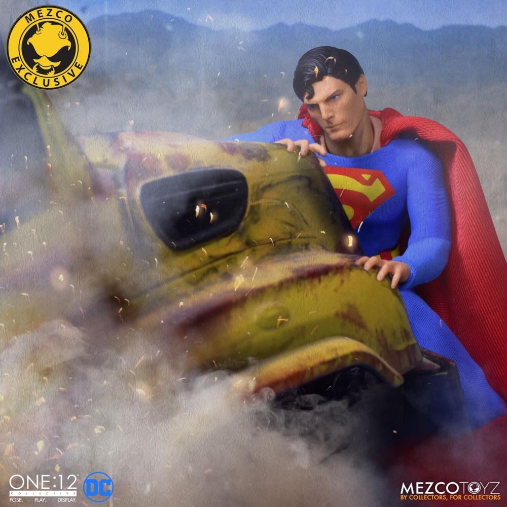 Mezco Toyz One 12 Collective Series Superman 1978 Edition