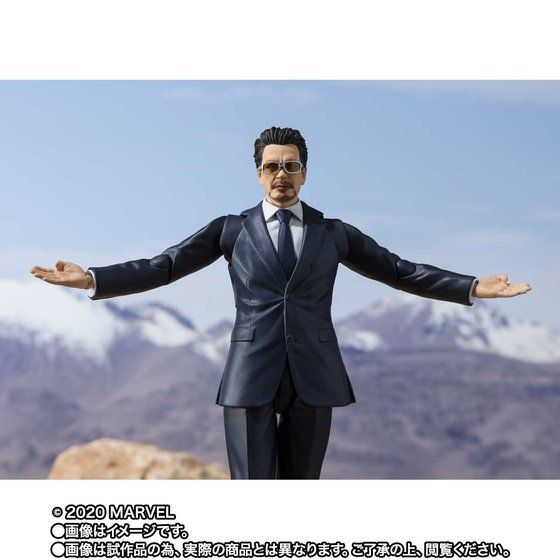 S.H.Figuarts Tony Stark -Birth of Iron Man Edition- [Iron Man]