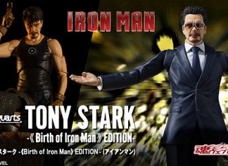 S.H.Figuarts Tony Stark -Birth of Iron Man Edition- [Iron Man]