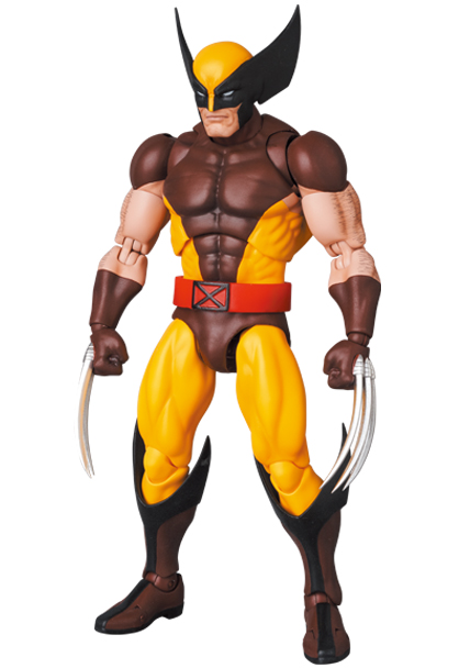 Mafex Series No.138 Wolverine (Brown Comic Ver.)