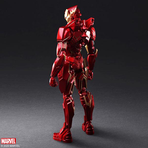 Marvel Universe Variant Bring Arts Iron-Man Designed by Tetsuya Nomura