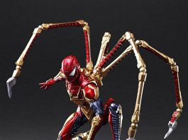Marvel Universe Variant Bring Arts Spider-Man Designed by Tetsuya Nomura