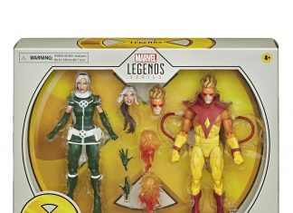 Marvel Legends X-Men 20th Anniversary Rogue and Pyro