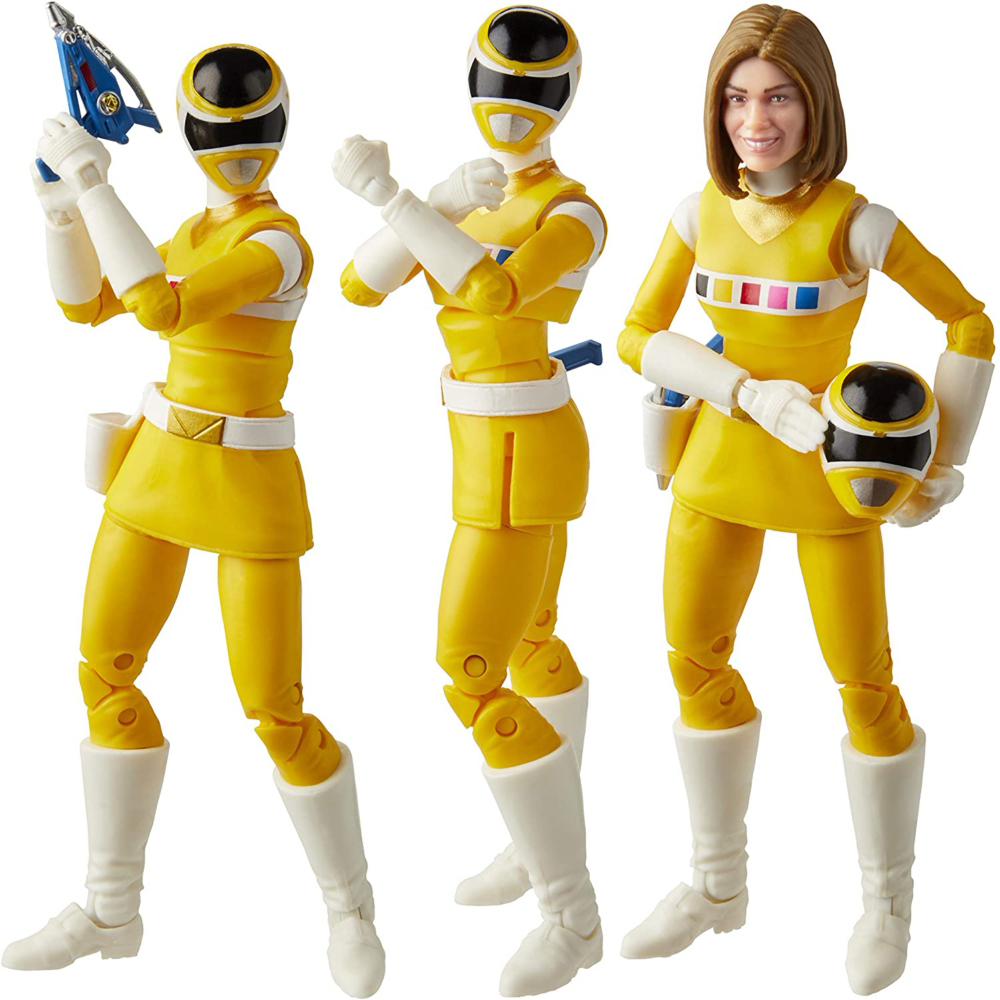 Power Rangers Lightning Collection In Space Yellow Ranger