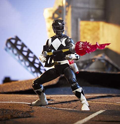 Power Rangers Lightning Collection Mighty Morphin Black Ranger