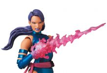Mafex Series No.141 Psylocke (Comic Ver.) [X-Men]