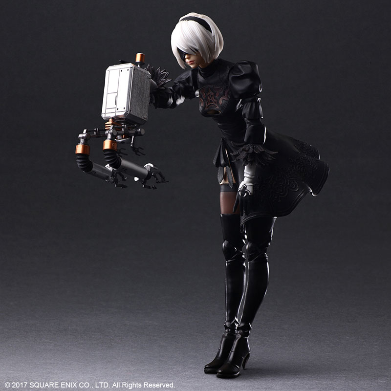 Play Arts Kai Series 2B YoRHa No.2 Type B (DX version) [Nier: Automata]