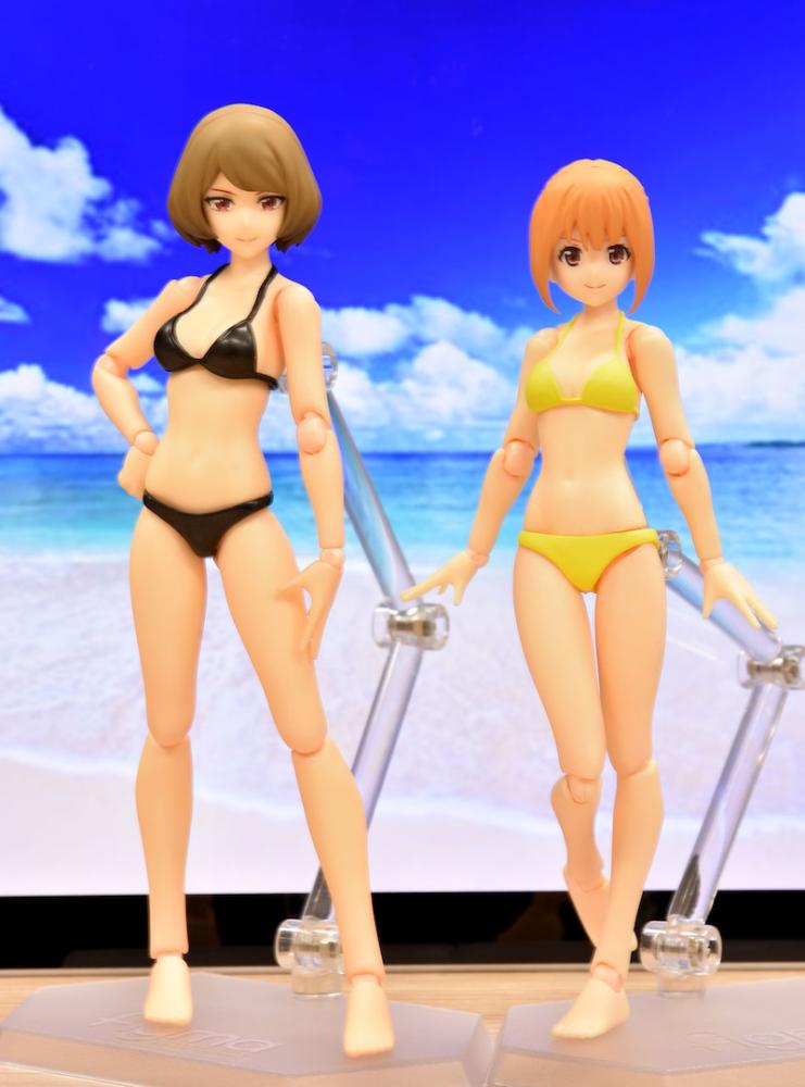 Figma 495 Female Swimsuit Body Chiaki