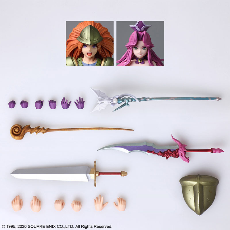 Bring Arts Series Duran & Angela [The Legend of Sacred Sword 3: Trials of Mana]