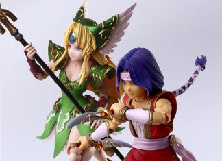Bring Arts Series Hawkeye & Reese [The Legend of Sacred Sword 3: Trials of Mana]