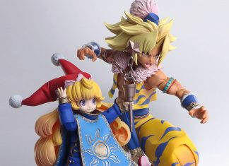 Bring Arts Series Kevin & Charlotte [The Legend of Sacred Sword 3: Trials of Mana]