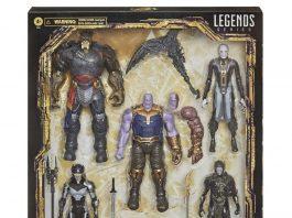 Marvel Legends Series The Children of Thanos 5-Pack