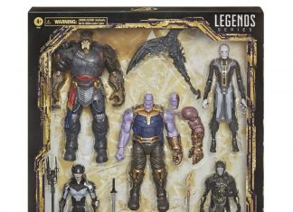 Marvel Legends Series The Children of Thanos 5-Pack