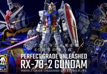 Perfect Grade Unleashed 1/60 RX-78-2 Gundam