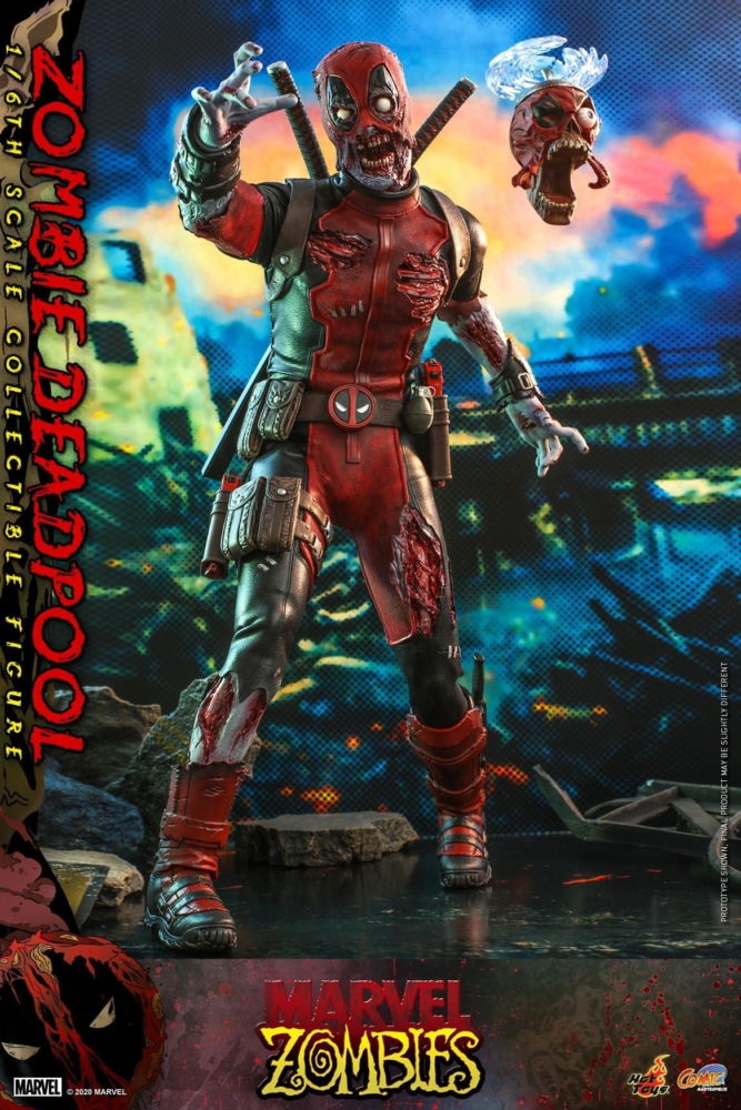 Hot Toys 1/6th scale Zombie Deadpool [Marvel Zombie]
