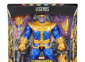 Marvel Legends Deluxe Thanos 2020 Comic ver.