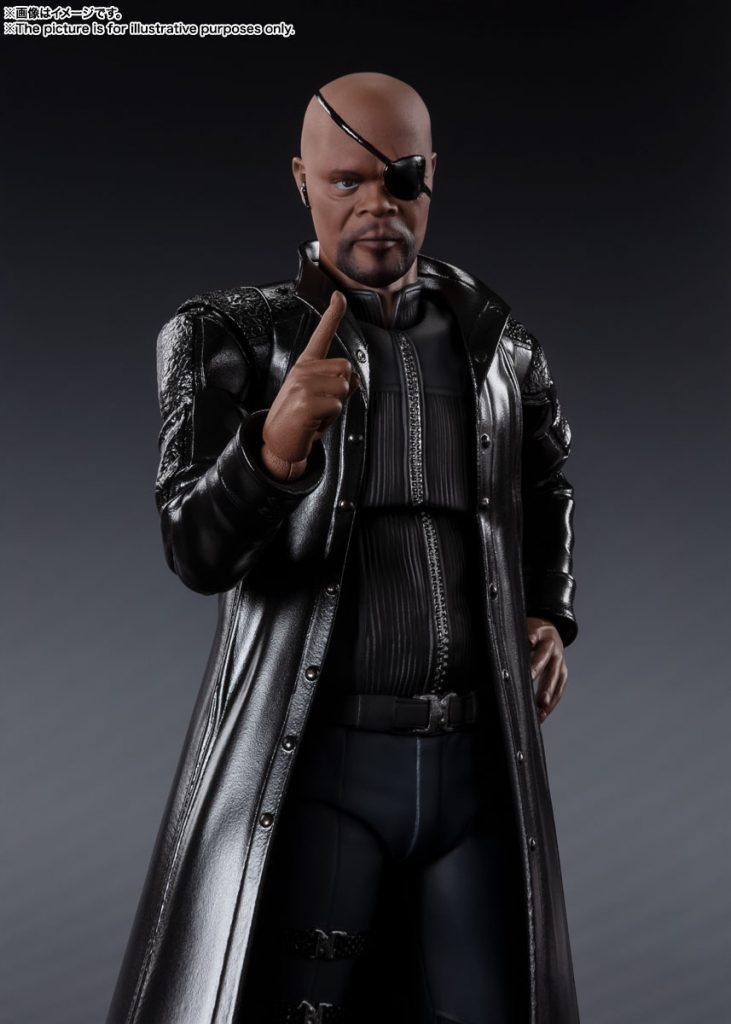 S.H.Figuarts Nick Fury [The Avengers]
