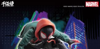 SV-Action Miles Morales Spider-Man Into The Spider Verse