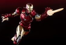S.H.Figuarts Iron Man Mark 6 Battle Damage Edition [Avengers]