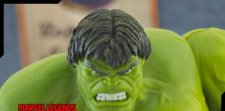 Marvel Legends Hulk 80th anniversary knock off review