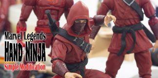 Marvel Legends Hand Ninja Simple Modification