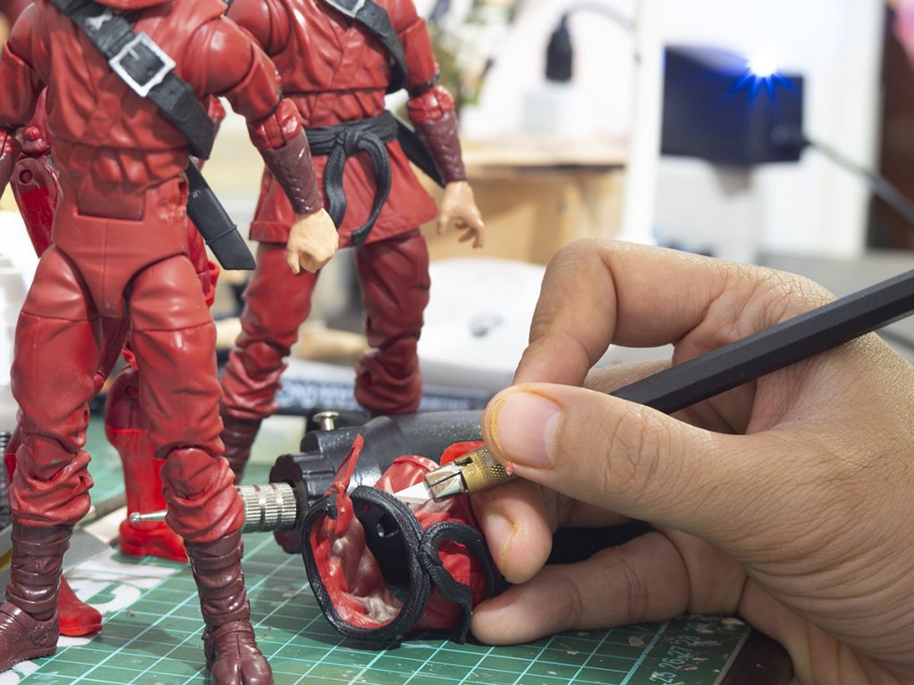 Marvel Legends Hand Ninja Simple Modification