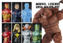 Marvel Legends Series Iron Man Wave BAF Ursa Major