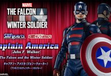 S.H.Figuarts Captain America (John F. Walker) [The Falcon and The Winter Soldier]