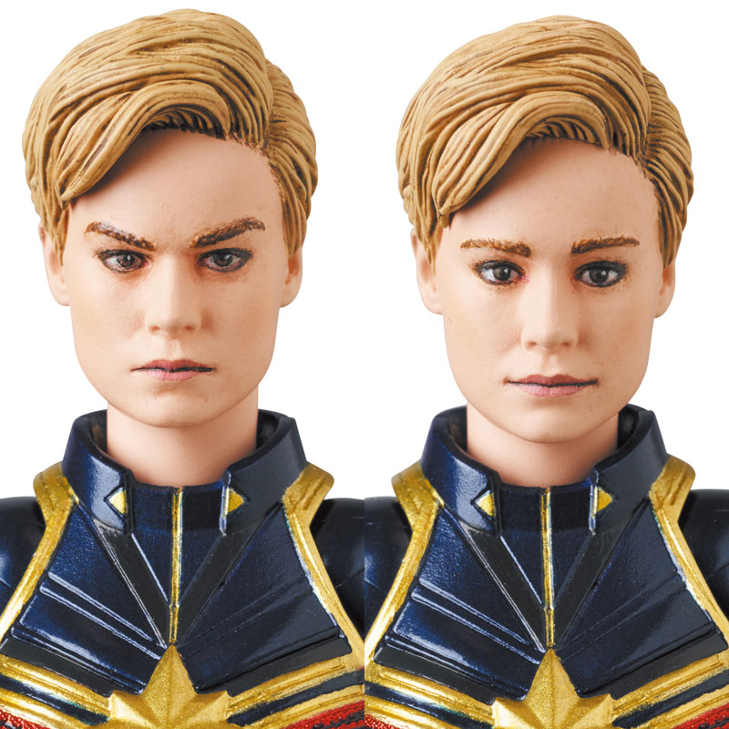 Mafex Series No. 163 Captain Marvel [Avengers: Endgame]