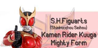 S.H.Figuarts Shinkocchou Seihou Kamen Rider Kuuga Mighty Form 50th Anniversary