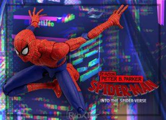 Sentinel SV-Action Spider-Man Peter B. Parker [Spider-Man Into The Spider Verse]