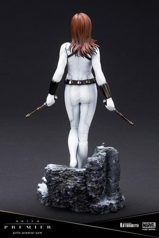 ARTFX Premier 1/10 Scale Black Widow White Costume Limited Edition [Marvel Universe]