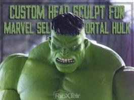 Custom Head Sculpt for Marvel Select Immortal Hulk