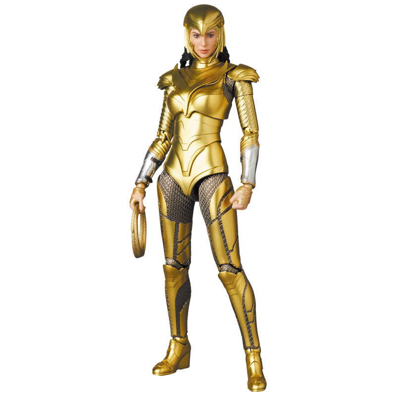 Mafex Series No. 148 Wonder Woman Golden Armor Ver.
