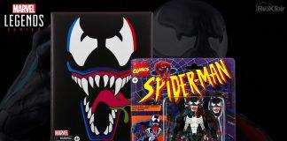 Marvel Legends Spider-Man Retro Collection Venom Hasbro PulseCon 2021 Exclusive