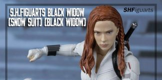 S.H.Figuarts Black Widow (Snow Suit) [Black Widow]