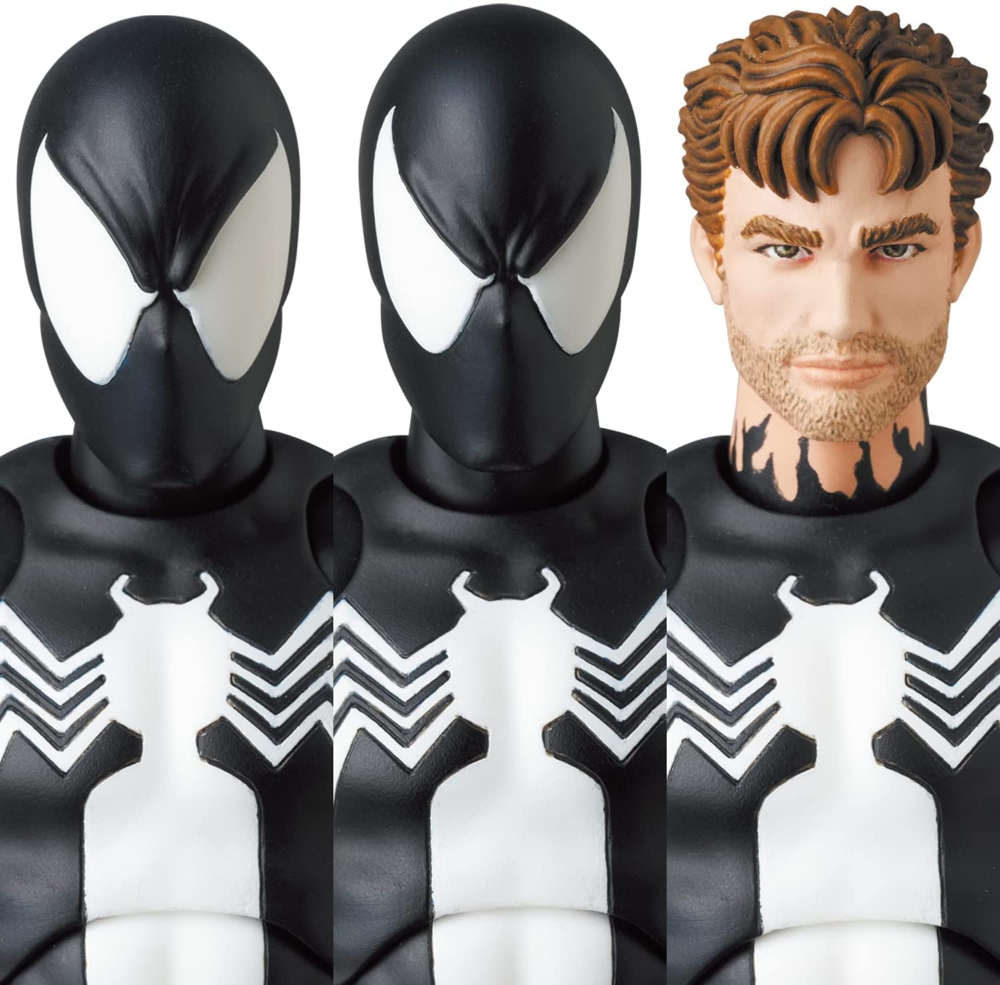 Mafex Series No. 168 Spider-Man Black Costume Comic Ver.